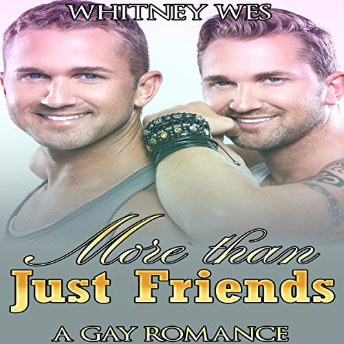 Gay: More than Just Friends audiobook cover art