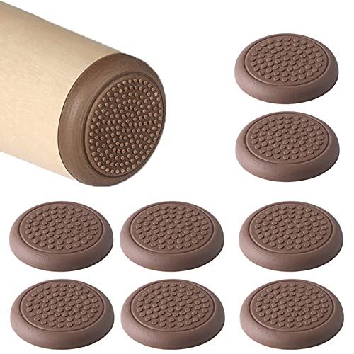 LEZED Almohadillas de Silicona para Patas de Muebles Almohadillas Protectoras de Suelo Autoadhesivas para Patas de Mesa para patas de mesa sillas cama sofá 8 piezas (50mm)