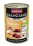 Animonda Gran Carno Sensitive Adult Reines Huhn, 6er Pack (6 x 400 g)