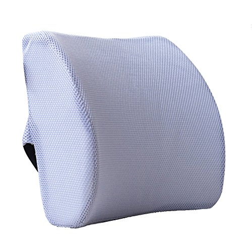Almohada HomDSim de espuma viscoelástica, cojín lumbar para asiento de coche, silla de oficina, silla de casa