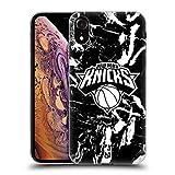 Head Case Designs Licenza Ufficiale NBA Marmoreo 2019/20 New York Knicks Cover in Morbido Gel Compatibile con Apple iPhone XR