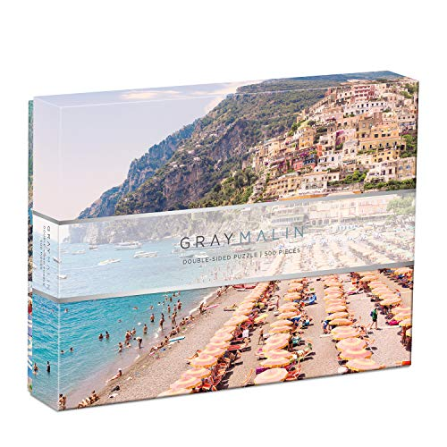 Galison Gray Malin Italy 2-Sided 500Piece Puzzle