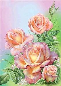 5D DIY diamante pintura flores jarrón rosas conjunto de punto de cruz taladro completo diamante bordado mosaico imagen diamantes de imitación A18 30x40cm