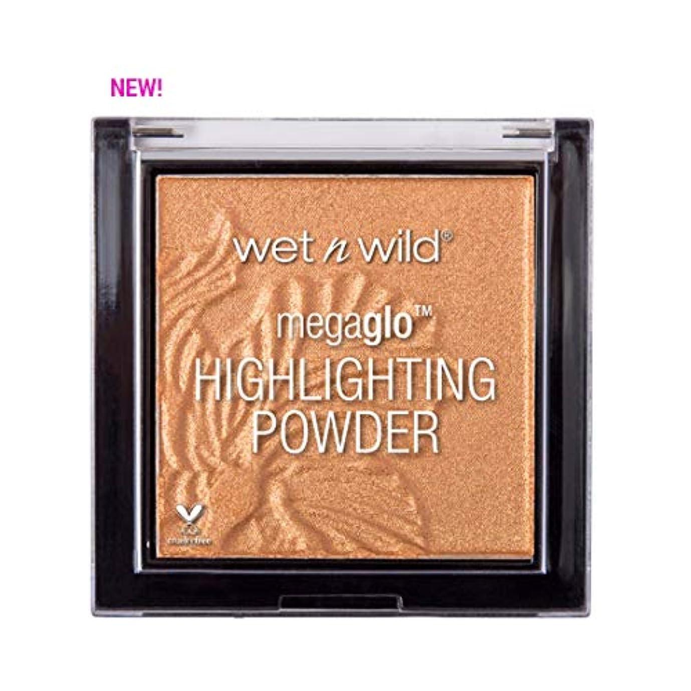 よく話される黒弁護人(3 Pack) WET N WILD MegaGlo Highlighting Powder - Awesome Blossom (並行輸入品)