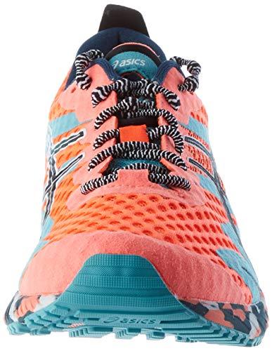 ASICS Gel-Noosa Tri 12, Zapatillas de Running Hombre, Sunrise Red Black, 44.5 EU
