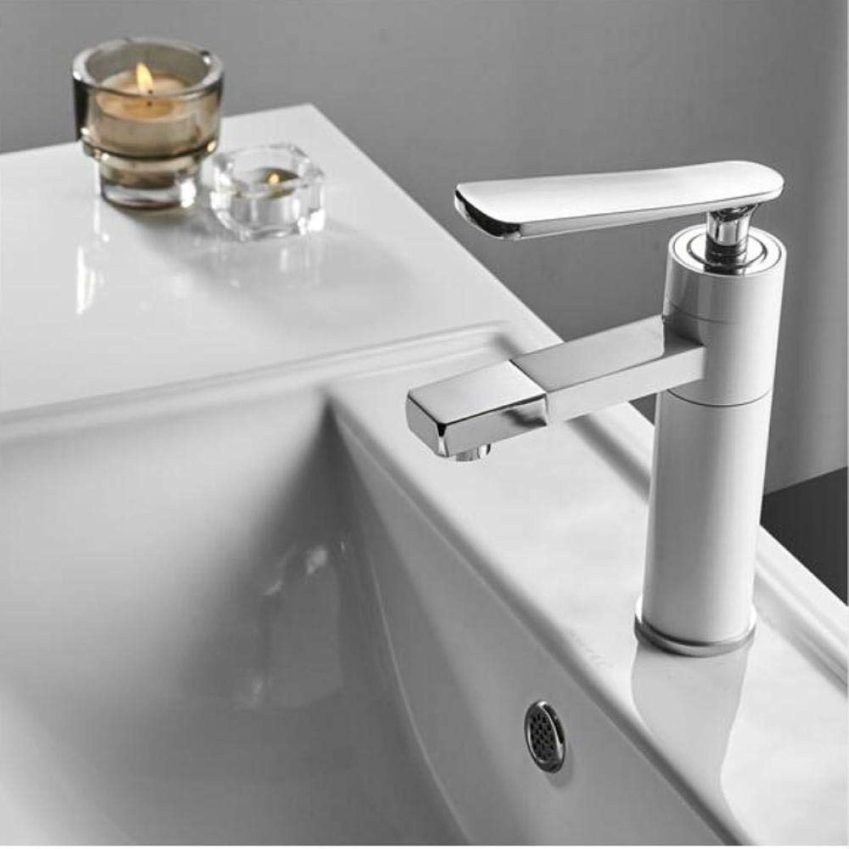 Wasserhahn Retro Basin Faucet Faucet Bathroom Sink Faucet Single Handle Hole Deck Vintage Wash Hot Cold Mixer Tap Crane