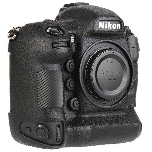 Yunchenghe D5 Caja de la Vivienda de la cámara, Cubierta de la Caja de la cámara de la Goma de Silicona Profesional Desmontable Protectora, para Nikon D5 - Negro