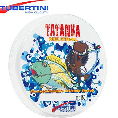 Tubertini Tatanka 150m Schnur - monofile Angelschnur zum Forellenangeln & Friedfischangeln, Monoschnur, Durchmesser/Tragkraft:0.165mm / 4.00kg
