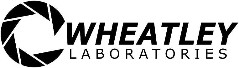 Bargain Max Decals - Aperture Science Wheatley Laboratories Portal Logo Sticker Decal Notebook Car Laptop 8
