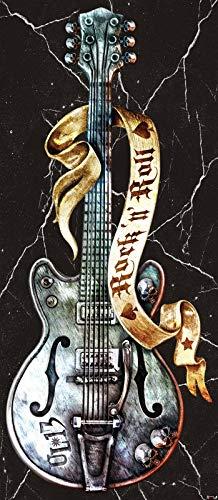 ForWall Alchemy Fototapete Tür Vlies Türfototapete - Gitarren Hardrock Vet (211 cm. x 91cm.) AMF1084VET Türtapete TürPoster