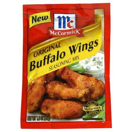 McCormick Original Max 84% OFF Buffalo Max 85% OFF Wings Seasoning - Mix 12 Pack