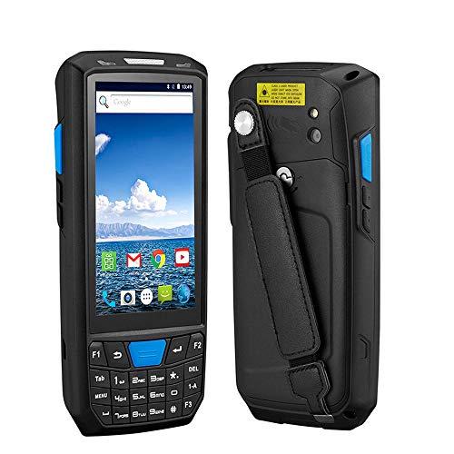 ZUKN LCD à écran Tactile Portable de données PDA Collector Terminal sans Fil 1D 2D QR Laser Barcode Scanner Lecteur Compatible Bluetooth GPS WiFi 4G Android 8.0 Scanner