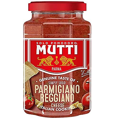 Mutti Tomatenpureesaus – Parmezaanse kaas 400g (Pack van 6)
