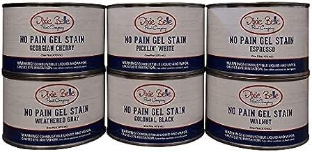 Dixie Belle Paint Company No Pain Gel Stain (16oz) (Oil Based) (Georgian Cherry)