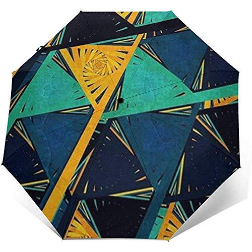 Rhombus Art ATU-1222 Automatischer Faltschirm Sonnenschutz Rauv Schutz Winddicht