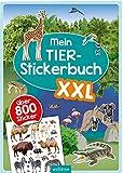 Mein Tier-Stickerbuch XXL: Mit über 800 Stickern