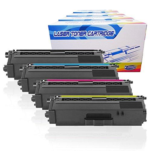 Inktoneram Compatible Toner Cartridges Replacement for Brother TN331 TN336 TN-331 TN-336 HY MFC-L8850CDW HL-L8250CDN HL-L8350CDW HL-L8350CDWT MFC-L8600CDW TN336BK TN336C TN336M TN336Y (BK,C,M,Y,4-PK)