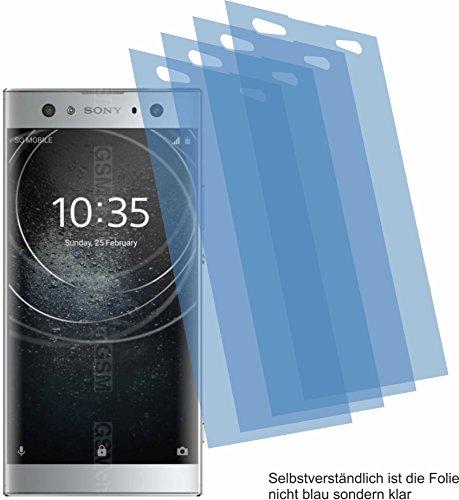 4ProTec I 4X ANTIREFLEX matt Schutzfolie für Sony Xperia XA2 Ultra Bildschirmschutzfolie Displayschutzfolie Schutzhülle Bildschirmschutz Bildschirmfolie Folie