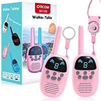 2-Pack Gocom Portable Two Way Walky Talky Toys