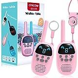 Children Walkie Talkies for 4-12 Year Old Boys Girls, GOCOM Portable Two Way Radios Kids Gift, Long Range Child Walky...