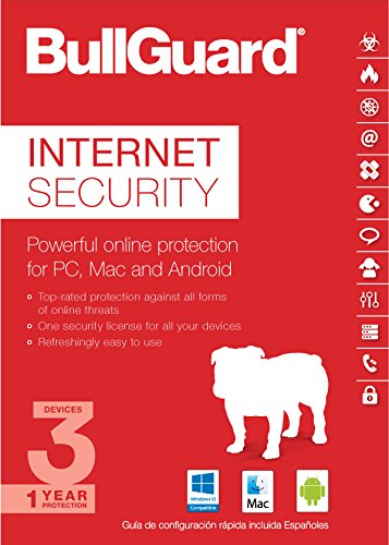 BullGuard Internet Security 2017, 1 Year, 3 Devices