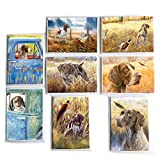 German Shorthaired Pointer 8 Pack Notecard Set by Michael Steddum - Perfect German Shorthaired Pointer Gift