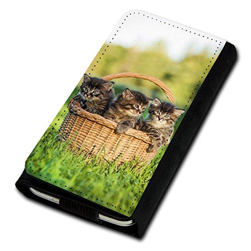 sw-mobile-shop Book Style Flip Handy Tasche Case Schutz Hülle Foto Schale Motiv Etui für Medion Life P5004 - Flip U5 Design11
