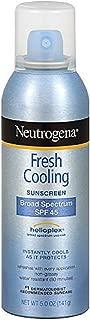 Best neutrogena cooling mist sunscreen Reviews