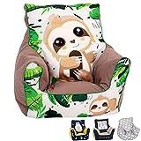 Delsit Children's Bean Bag Chair - European Made, Premium Quality, Little Kids Bean Bag Chair,...