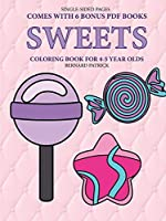Coloring Book for 4-5 Year Olds (Sweets )