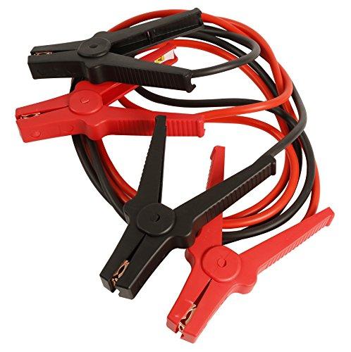 AA Cables de arranque con pinzas para vehículos, 3 m, hasta
