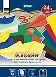 Buntpapierheft A4 12 Blatt, 1 Stück