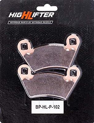 High Lifter Replacement Brake Pads for Polaris Models BP-HL-P-102