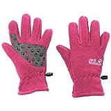 Jack Wolfskin Kinder Fleece Gloves Kinderhandschuhe, Rosa Pfingstrose, 128