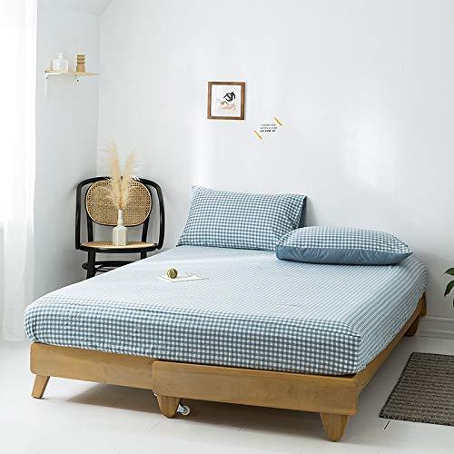 HAIBA MarkeSpannbettlaken Spannbetttuch Bettlaken Rundumgummizug Hohe Qualität Spannbetttuch Mehreren Größen und Farben,48x74cm(2pcs)