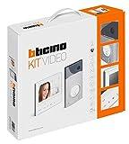 Legrand, Flex ONE 2-Draht Videosprechanlagen Set, Classe 300 V13E mit 7' Touchscreen Monitor, 105° Weitwinkel Kamera, Video Speicherung, IP54, IK10, 363511