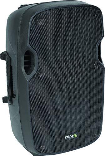 Ibiza XTK10A - Bafles de Sonido con Abs Activo, 10' / 300W, Negro