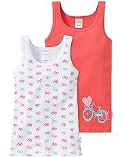 Schiesser 148611, Camiseta de Tirantes Para Niñas, Pack de 2
