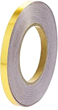 FUNCOCO Folie Tape, Home Decor Taille Lijn Waterdicht Goud Zilver Zwart Afdichtfolie Tape Zelfklevende Strip Trappen Plint...