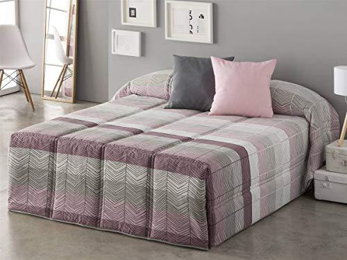 Sansa - Conforter Dover - Cama 180 cm - Color Lila