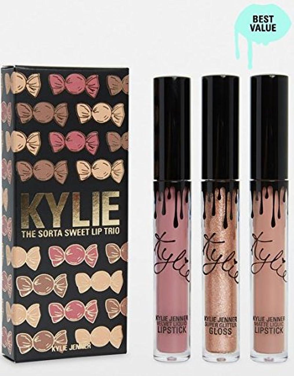 おとこポジティブ槍Kylie Cosmetics Sorta Sweet Trio   Lip Set カイリーコスメティックス