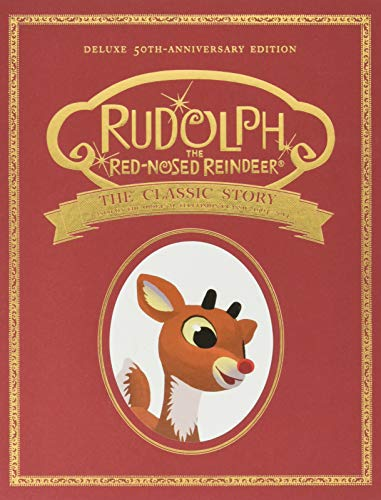 Image of Classic Rudolph the Red Nosed Reindeer Book - 50th Anniversary Edition