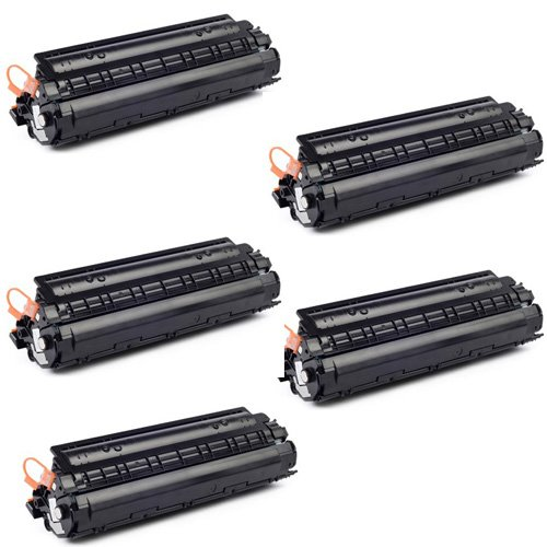 Prodot HP-88A Compatible Cartridge for HP Laser Printer Set of 5 Black