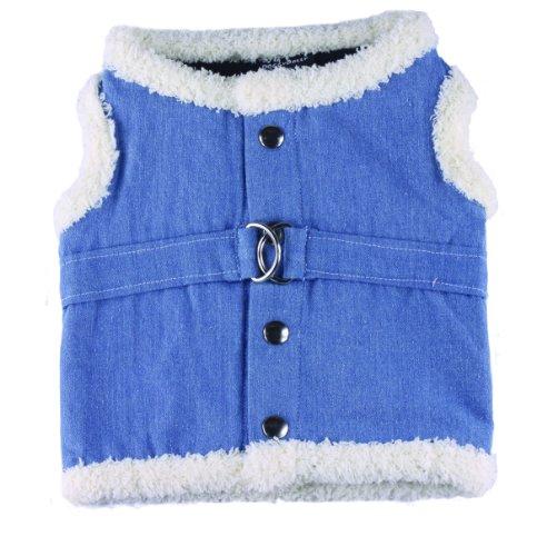 Doggy Dolly DCL048 Jeans Soft Hundegeschirr Jeans, Größe : XS