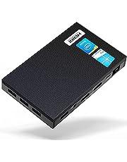 ミニPC Quieter2 Windows 10 Pro搭載 Celeron J4125 Processor クアッドコアプロセッサー 8GB DDRメモリー 128GB eMMCストレージ USB3.0 4K HD Bluetooth 4.2 2.4G/5GWiFi対応 自動電源オン ファンレス 0dB 超軽量 省スペース 小型PC ミニパソコン