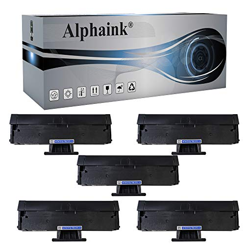 Alphaink 5 Toner compatibile con MLT-D111S e MLT-D111L per Stampanti Samsung Xpress SL-M2020w, SL-M2022, SL-M2022W, SL-M2070, SL-M2070FW, SL-M2070W, 1.800 Copie