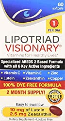 Lipotriad Visionary vitamins for healthy eyes