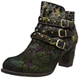 Laura Vita Women's Anna 128 Ankle Boots, Green (Kaki Kaki), 4 UK
