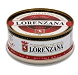 Mantequilla asturiana tradicional LORENZANA sin sal.(varios formatos).Envío GRATIS 24h. (Lata de 250gr, pack 4 unidades)