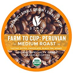 GREAT TASTE: Our 100% Arabica coffee comes from the high altitude of Peru and is harvested in small batches to ensure only the highest quality of beans are selected. With each sip of this coffee, you will taste notes of plum, red berry, and caramel. ...